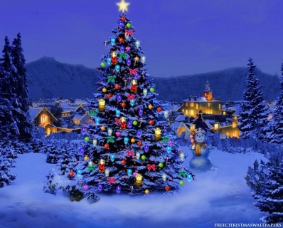Cool-Christmas-Tree-Background-Wallpapers