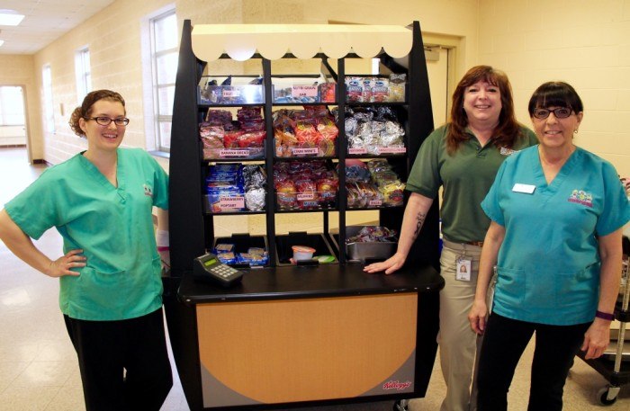 Some of the Gunning Bedford/Colonial Nutrition Services team