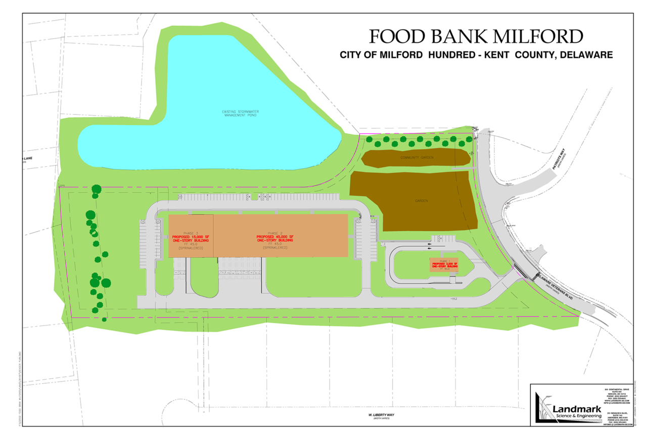 Milford expansion project