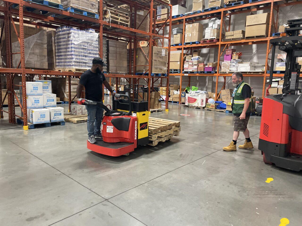 Free warehousing/ logistics training!